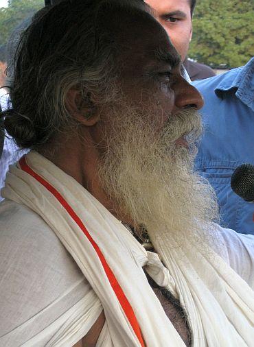 Nitya Gopal Das, chairman of Ram Janmbhoomi Nyas
