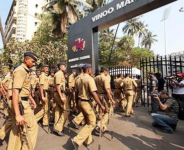 Mumbai police on high alert