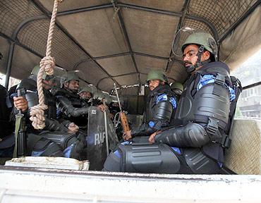 Guns, cameras, action at battleground Mumbai