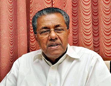 Kerala's CPI-M boss Pinarayi Vijayan