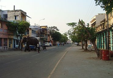 The Kizha Chittrai street