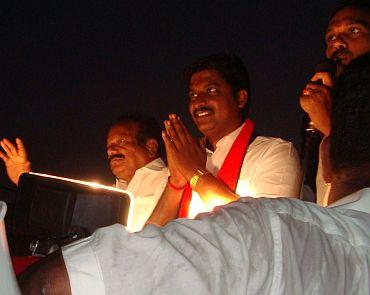 DMK candidate N Anand