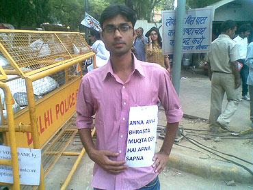 Jai Singh, a UPSC aspirant