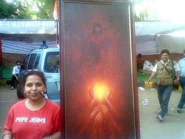 Harinansha Bhardwaj, professional artist