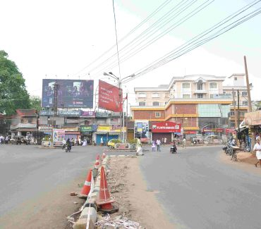 The deserted Peroorkada junction in Thiruvananthapuram