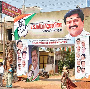 Quiet campaign, red rallies and VS wave in Kerala