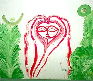 A painting by Mamata Banerjee.