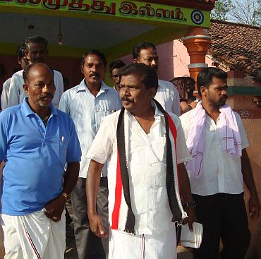 AIADMK candidate K M Rajendran