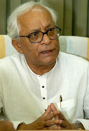 WB Chief Minister Buddhadeb Bhattacharjee