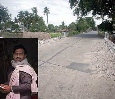 File photo of Perambalur. (Inset) A Raja
