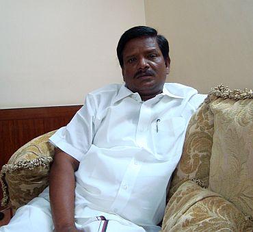 Rajkumar, DMK's sitting MLA from Perambalur
