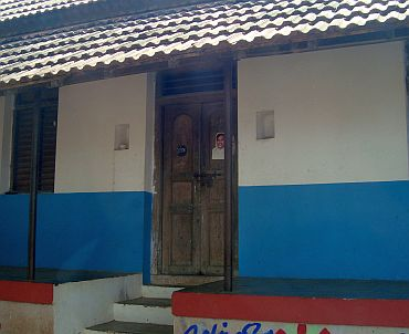 Raja's ancestral home in Velur. No one lives there now, say locals
