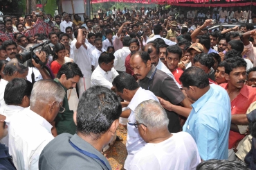 Achuthanandan at Pallassena