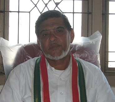 Congress MLA K Hasan Ali
