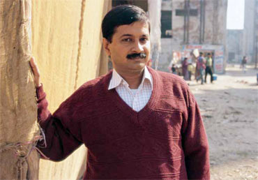 Right to Information Act activist Arvind Kejriwal, who is also a part of Team Anna