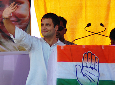 Rahul Gandhi's camapaign in the state has attracted large crowds