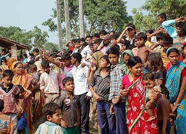 Thousands gathered for Rahul Gandhi's rally