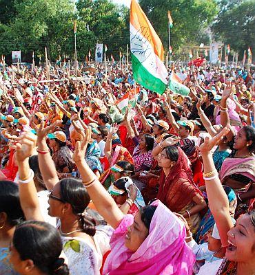 The gathering in Jalpaiguri