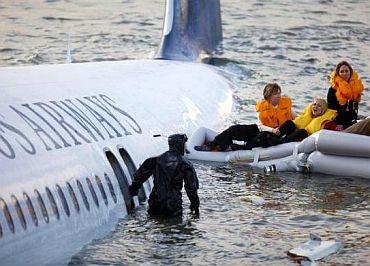 Crash-landed