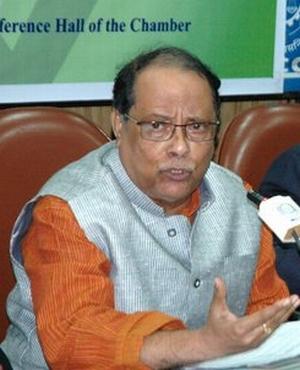 Municipal Affairs Minister Ashok Bhattacharya