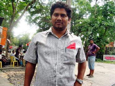 CPI-M supporter supporter Nirjal Dey