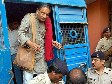 File picture of Dr Binayak Sen brought to a court in