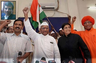 'Anti-Congressism appears to be Team Anna's reference point'
