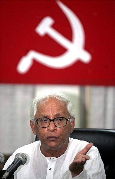 Bengal CM Buddhadeb Bhattacharjee