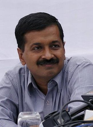 Right to Information activist Arvind Kejriwal