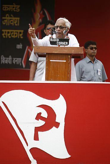 West Bengal CM Buddhadeb Bhattacharjee