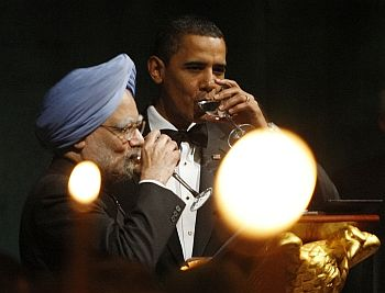 US president Barack Obama and PM Singh in Washington, DC