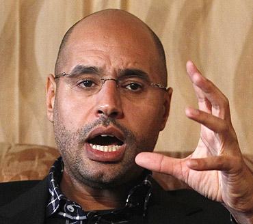 Gaddafi's most prominent son, Saif al-Islam
