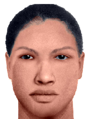The sketch of Seema released by the police