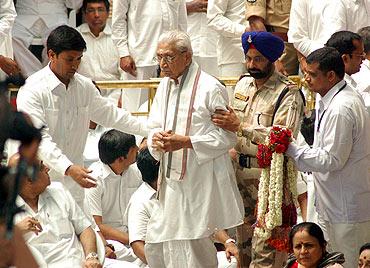 Vishwa Hindu Parishad leader Ashok Singhal