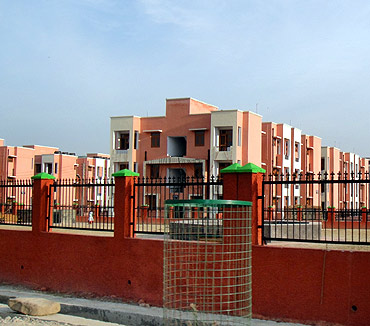 The new Jagti township built for Kashmiri Pandits in Jammu.