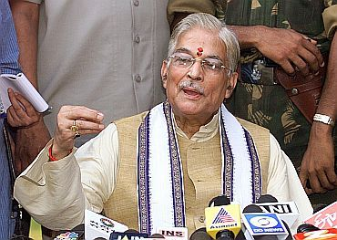 PAC chief and senior BJP leader Murli Manohar Joshi