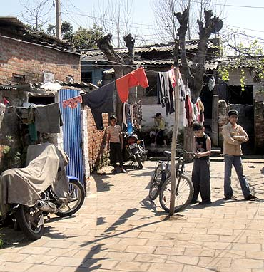 A camp for Pandits in Jammu. The camps will be emptied and residents moved to a new township.