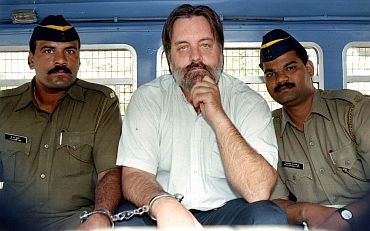 Martien Konrad Schneider, an American national, was detained in connection to the case in Mumbai