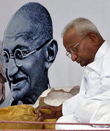 Activist Anna Hazare