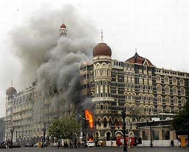 A scene from the 26/11 terror strike