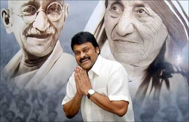 Will Chiranjeevi join the Congress on August 7?