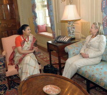 Meera Shankar given warm send off in the US