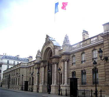 Elysee Palace, France