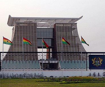 Golden Jubilee Palace, Ghana