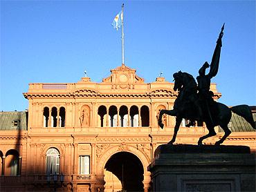 Casa Rosada or 'Pink House', Argentina