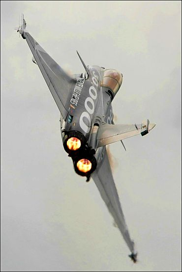Rafale shines at an airshow