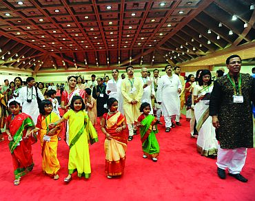 Bengalis from across the globe gathered at the Baltimore Convention Centre to participate at the North American Bengali Conference