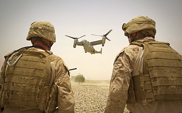 A V-22 Osprey chopper