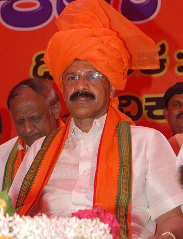 Karnataka Chief Minister D V Sadanada Gowda