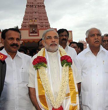D V Sadananda Gowda is new Karnataka CM